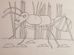 Sample artwork - ant